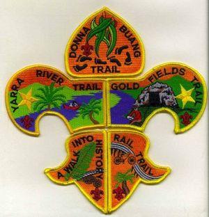 Scout Badges feature Railtrails