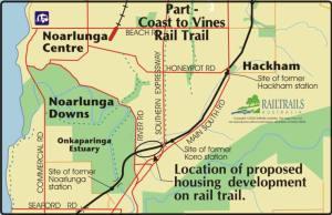 Threat to Coast to Vines Rail Trail, South Australia