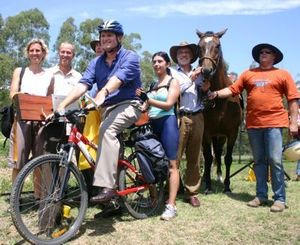 East Gippsland Rail Trail (Victoria) Extension Officially opened.