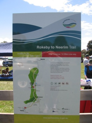 Rokeby to Crossover Rail Trail (VIC)
