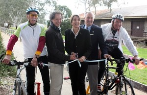 First Stage of Goulburn River High Country Rail Trail (NE Victoria ) Opens