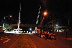 Warburton Rail Trail Bridge Spans Installed (VIC)
