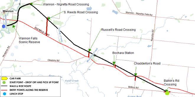 A Day on the Hamilton to Coleraine Rail Trail (VIC)