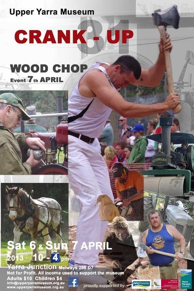 Champion Axemen Return for Crank-Up (Warburton Rail Trail VIC)