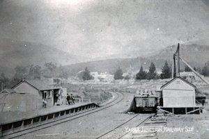 Yarra Junction Station circa 1900's