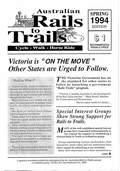 Railtrail Connections – Spring 1994