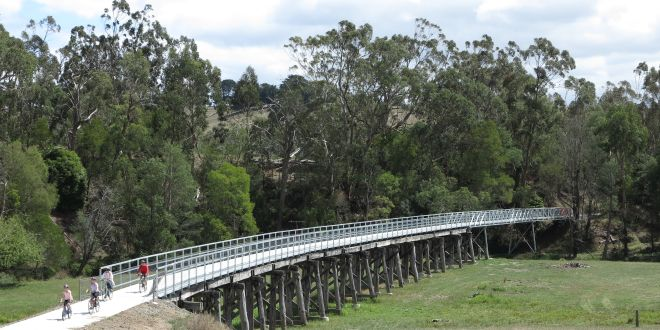 Iconic Gippsland rail trail (in Victoria) to be extended