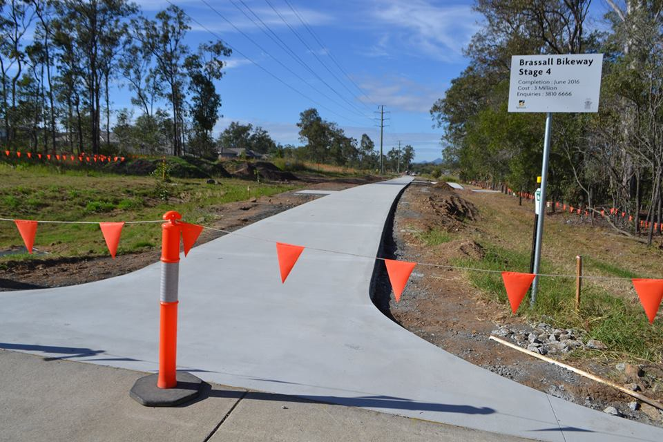 Work is progressing well on the Wulkuraka to Brassall section of the Brisbane Valley Rail Trail