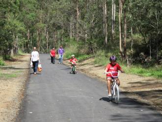 Stage one of the Ferny Grove to Samford Rail Trail upgrade is now complete.