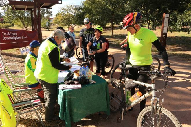"""""""Cycle Dindi"""" on the Great Victorian Rail Trail this April"""