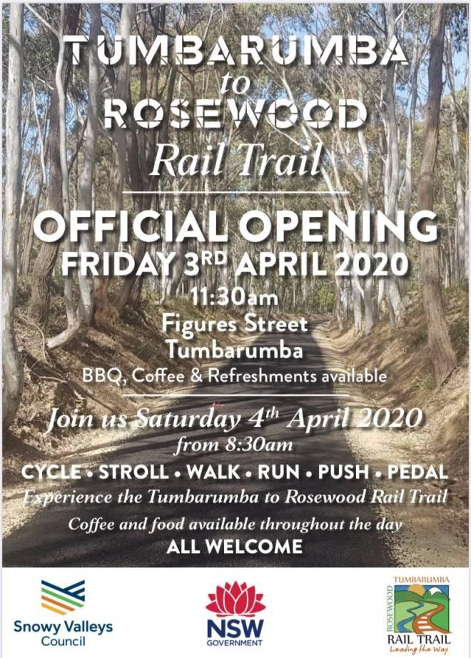 Tumbarumba to Rosewood opening web