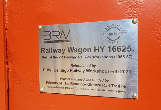 V40 029 Axedale wagon install 2020 04 Wagon Plaque 01