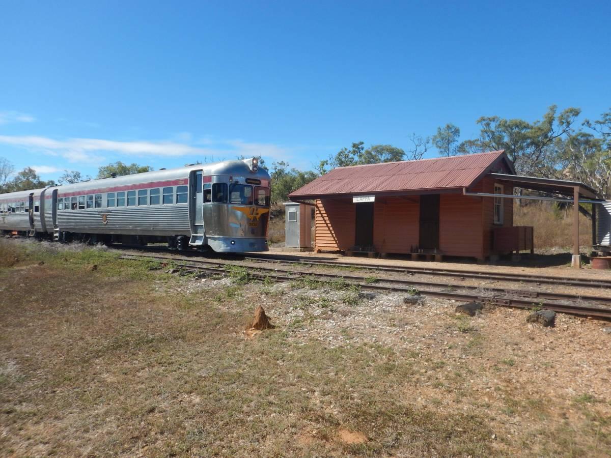 Lappa station Savannahlander circa 2016