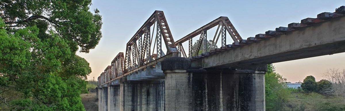Yabba Creek Bridge part of  proposed trail extention 2019