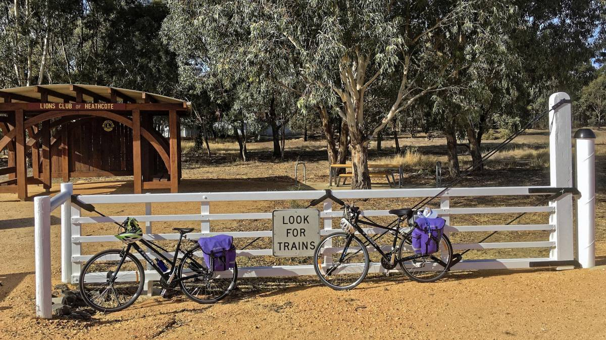 Community groups have contributed to turning the access point at Heathcote from a bare paddock into a feature (Andrew Lecky 2019)