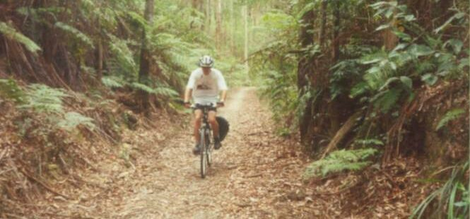 A shady ride near Tyers Junction (2005)
