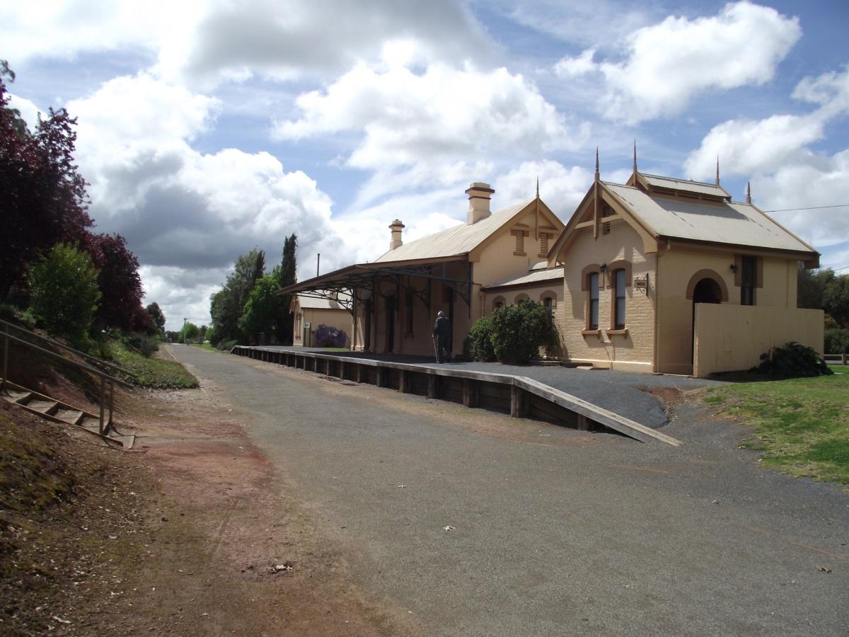 Corowa Railway station (2014)