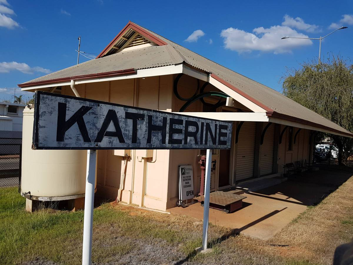 Katherine Station (Garry Long 2018)