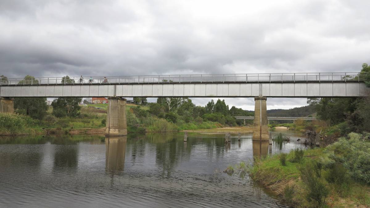 More nice views from the Tambo River bridge at Bruthen