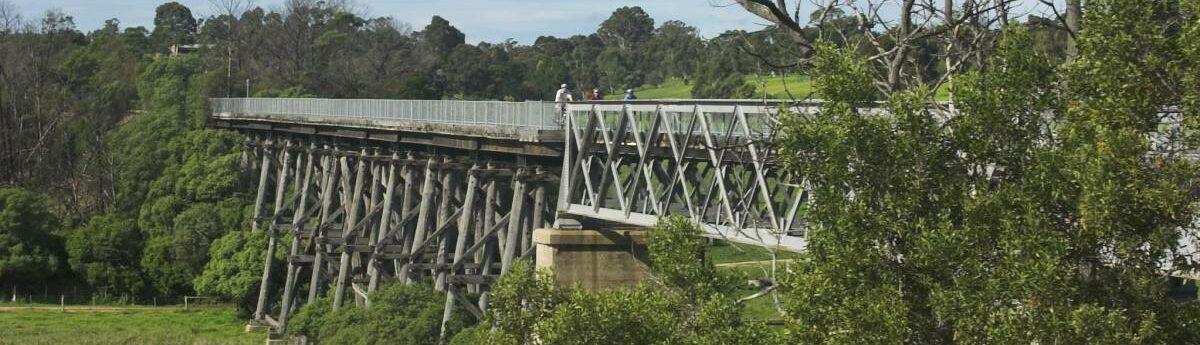 The Nicholson River bridge at Nicholson