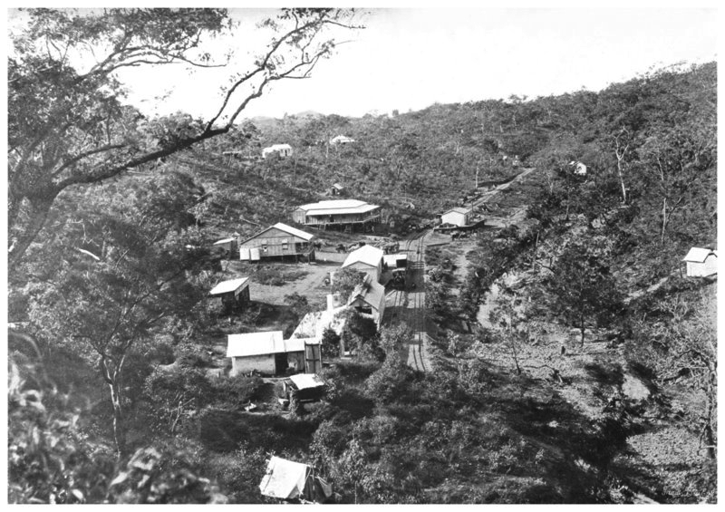 Stannary Hills railway yards circa early 1900's