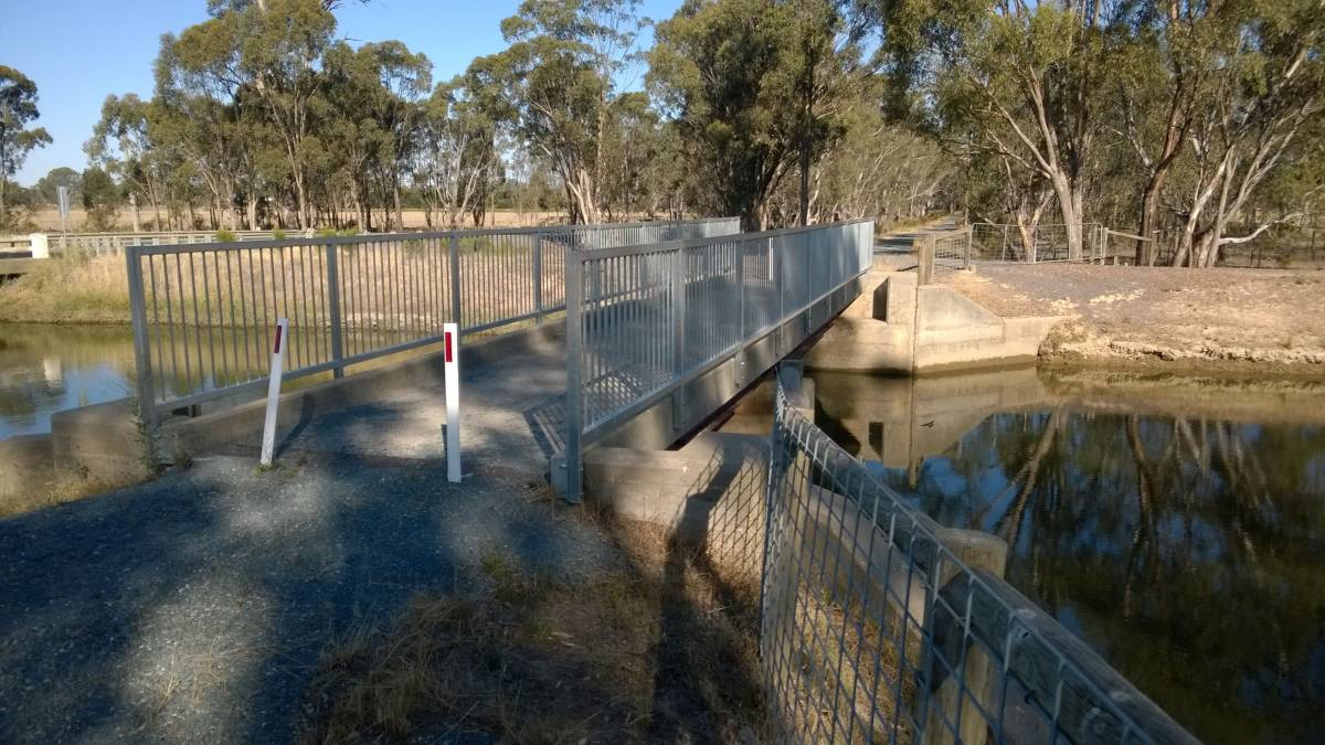 Another bridge on the Murchison section (2015)