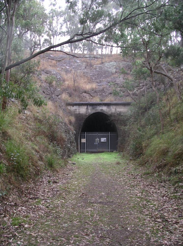 The northern portal of the tunnel (2010)