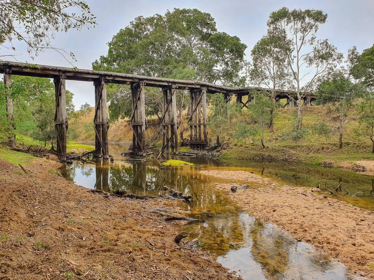 Picturesque Wannon River bridge (Beryl Camillieri)
