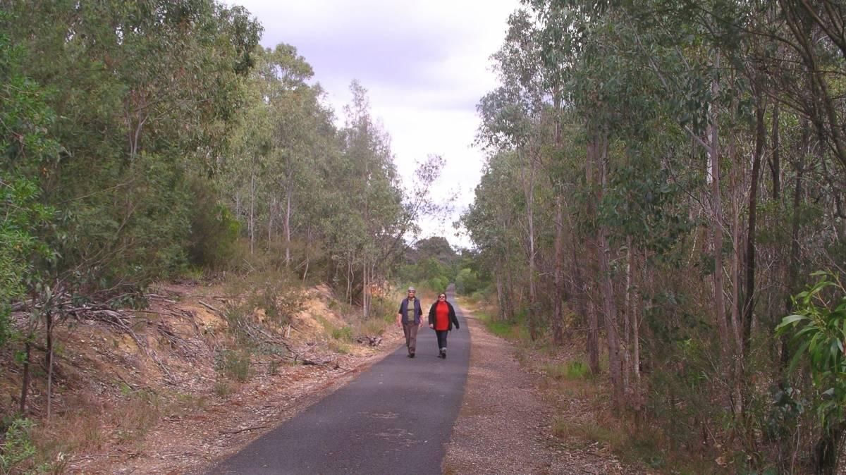 Walking near Nicholson