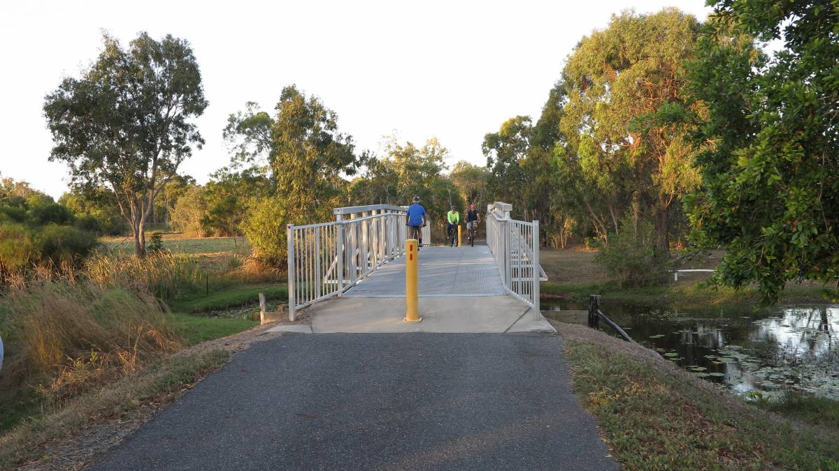 Bridge near Barmaryee Rd (2018)