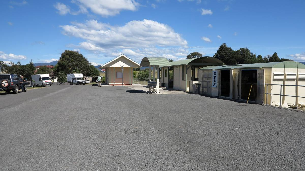 The Legerwood station site. 2014