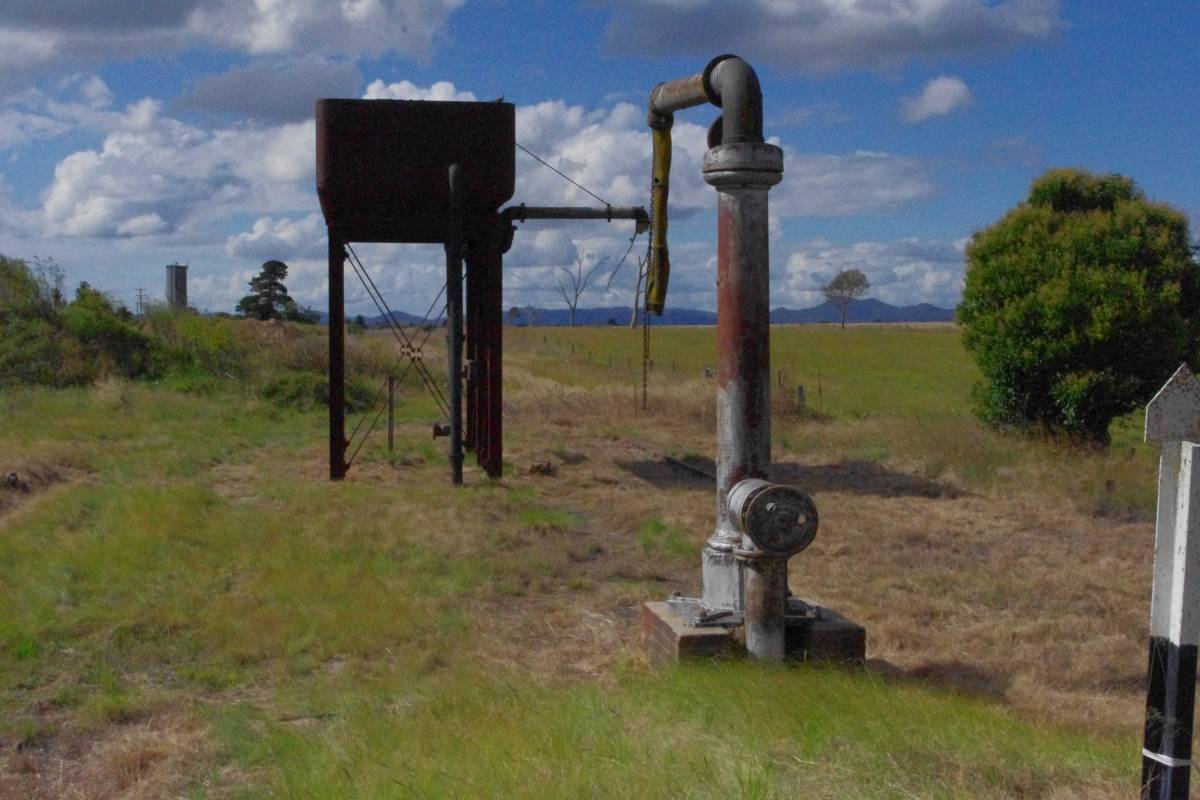Remnants of the steam era at Deepwater (2012)