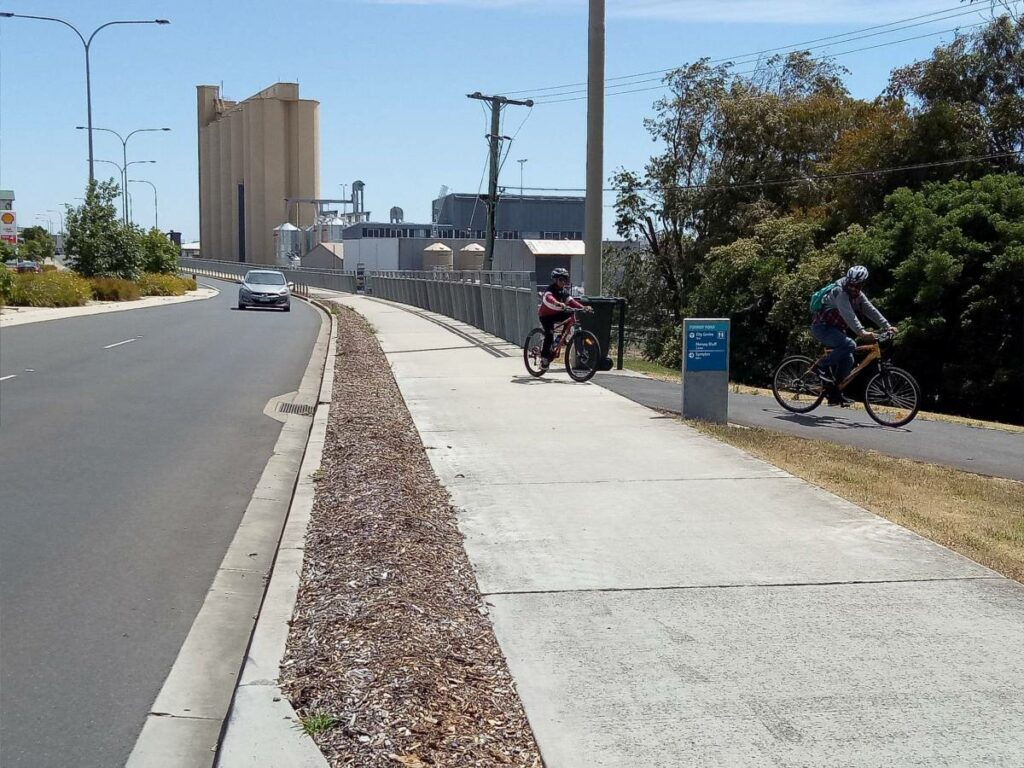 Don to Devonport Cycleway