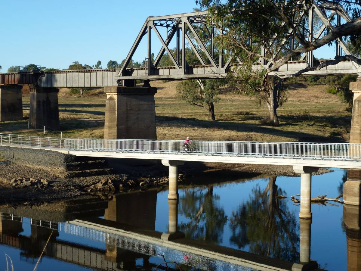 David and Goliath bridges May 2012