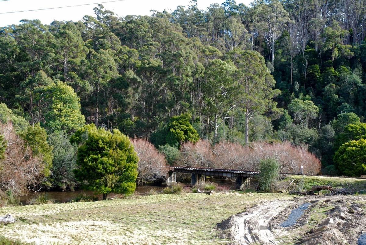 Bridge near National Park. Emma Pharo 2015