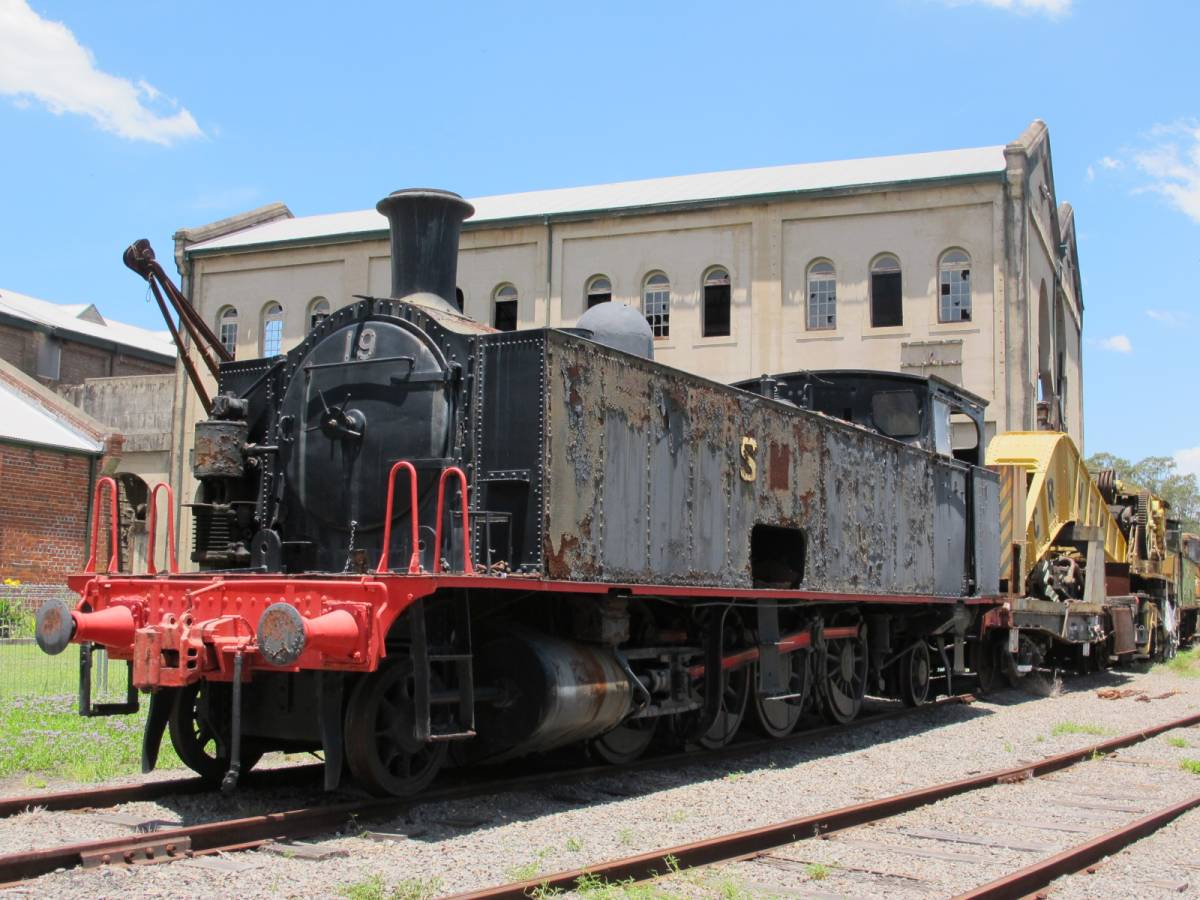 Some railway equipment at Richmond Vale 2013)