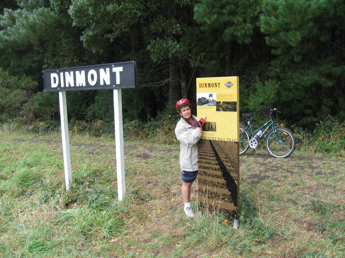 Example of signage - Dinmont (2006)