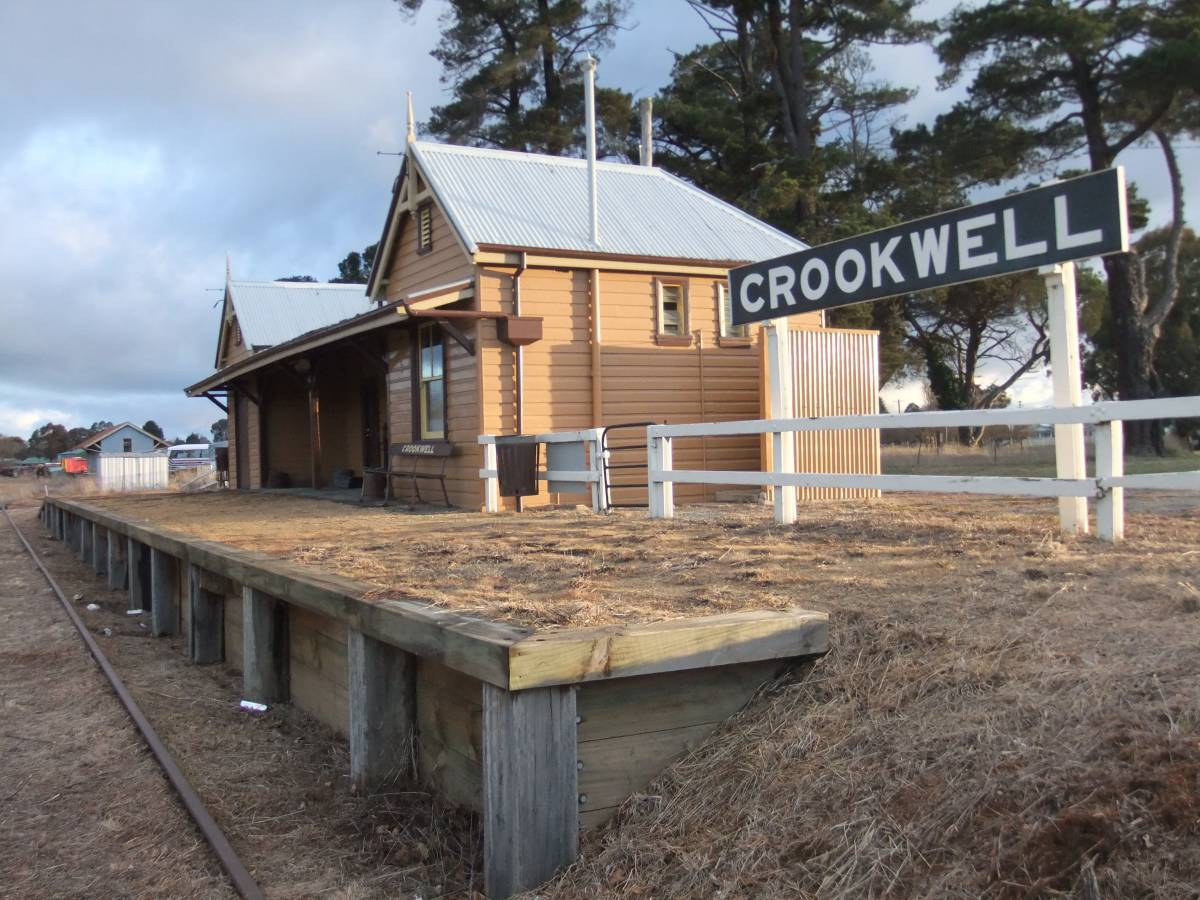 Former station building at Crookwell