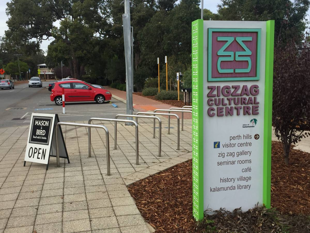 The Zig Zag Cultural Centre is located in the Kalamunda Town Centre.