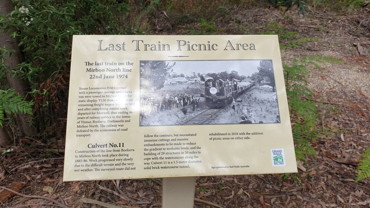 Sign at picnic grounds