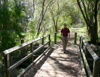 Bridge on the trail between Margaret River and Cowaramup