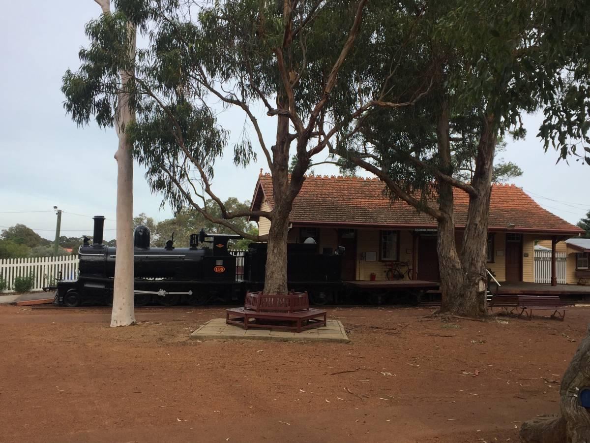The Kalamunda History Village provides information regarding the Upper Darling Range Railway.