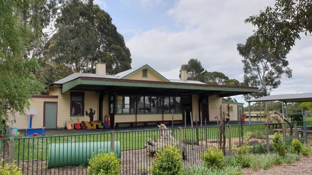 The former Mirboo North Railway Station is still serving the community.