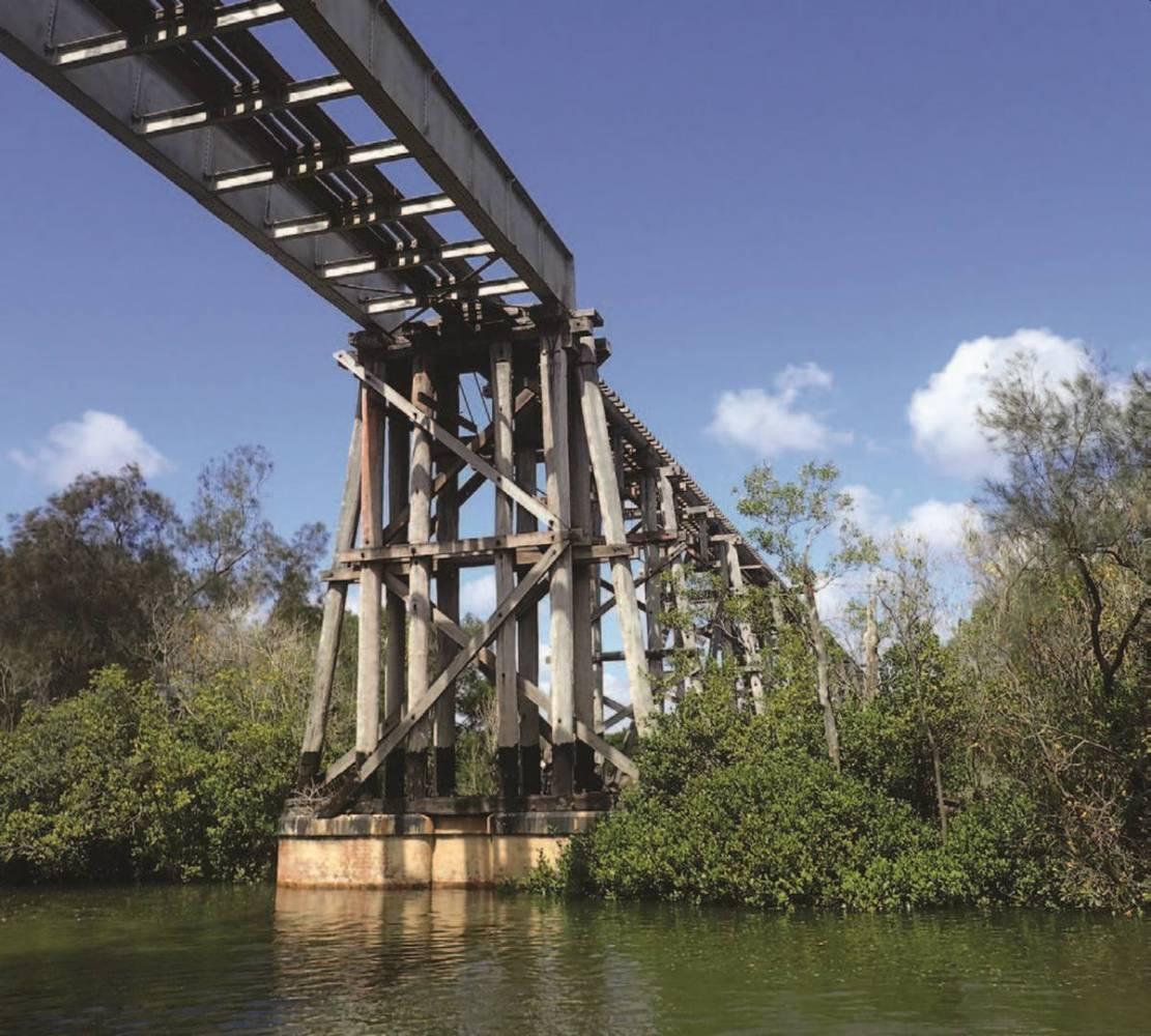 Splitters Creek Bridge  near Bundaberg will be a major feature of the rail trail (Bundaberg Regional Council)