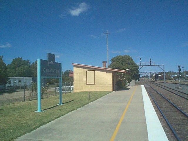 Culcairn Station - main southern line
