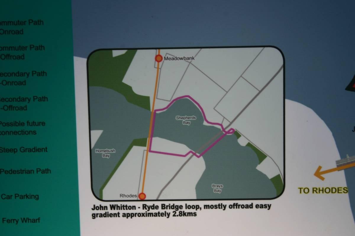 Trail description board
