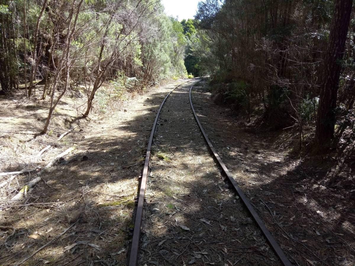 Emu Bay Rail Melba Flats end (2019)