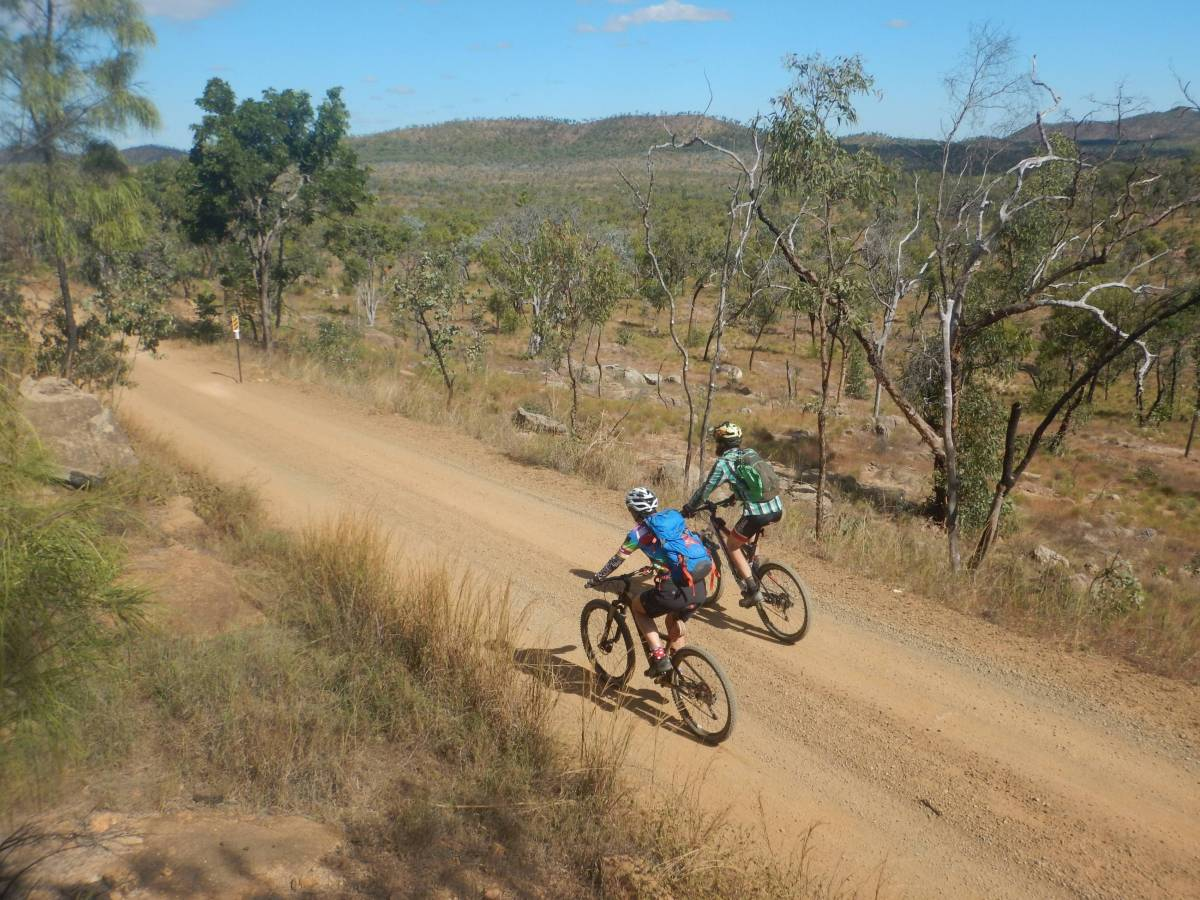 Outback cycling to Mt Garnet