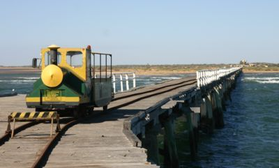 The One Mile Jetty at Carnarvon