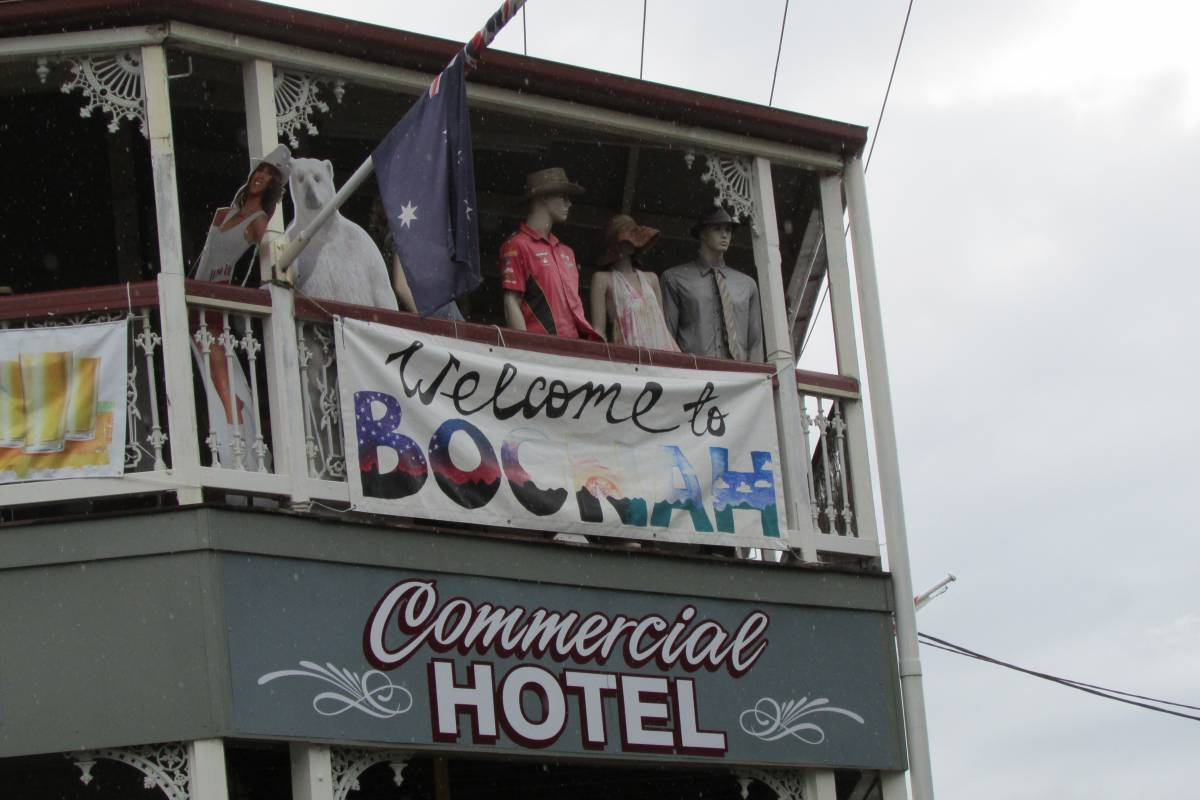 The sometimes quirky Boonah town centre